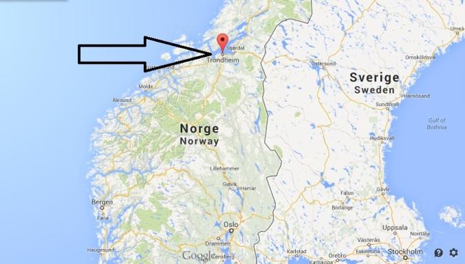 Trondheim ha più di 150.000 abitanti, ed è la terza città del paese.